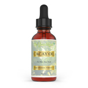 BeYouthful Cacay Oil - 100% Cold Pressed Cacay Oil For Face, Skin, Hair, Nails. Highest Botanical Source Of Plant Retinol (Provitamin A). Best Natural Anti-ageing, Anti Wrinkle And Antioxidant Oil. Aid Cell Regeneration And Turnover, Hydrate Skin And B ..