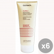 Set of 6 CUTINOL Professional CURLY Mask 200 Ml. Hair products