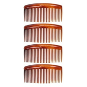Pack of 4 9cm Tort Hair Combs