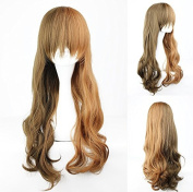Women's Wig Cosplay Wig Brown Mix Curly 60 cm