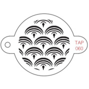 TAP Re-useable Face Paint Stencils - TAP060 Mermaid Scales