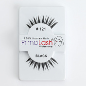 100% Human Hair False Lashes by PrimaLash Professional STYLE #121 demi pixies Handmade Strip Lashes