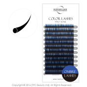 WonderLash® Ombre Individual Eyelash Extensions Two Tone Eye Lash Semi Permanent