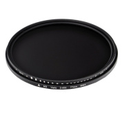 77mm ND2-400 Neutral Density Adjustable ND2 to ND400 Lens Filter For Canon Nikon Pentax Olympus Fujifilm Camera Lens