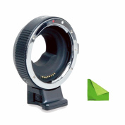 Commlite Updated Electronic AF Auto-Focus built-in IS Lens mount adapter EF-M4/3 from Canon EOS EF/EF-S lens to M4/3 Camera Panasonic GH3 GH4 GX7, Olympus OM-D E-5,E-M10,BMPCC