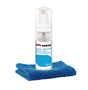 Meliconi 55 ml Foam Antistatic Cleaning Foam with Microfiber Cloth - Blue