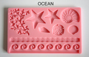 Moulds, 7 Different Designs Available, OCEAN