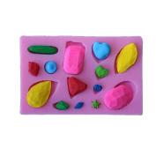 DIY Mini Diamonds Jewel Gemstone Shape Fondant Cake Moulds Chocolate Mould Kitchen Baking Tools