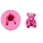 3D Cute Bear Silicone Mould Shape Cake Mould Baking Tools