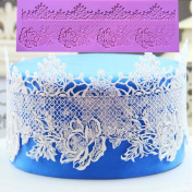 3D Silicone Lace Mould Fondant Cake Decorating Tools Silicone Chocolate Mould