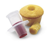 Top-spring Ideal Red Silicone Cupcake Corer