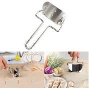 Efbock Stainless Steel Dumpling Wrappers Skin Cutter Maker Mould Mould Dumpling Tool