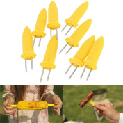 MAXGOODS BBQ Jumbo Corn Holders Holder Food Holder,16-Pack