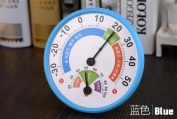 Hygrometer,Round Glass Analogue Thermometer for Humidors Indoor Humidity Monitor
