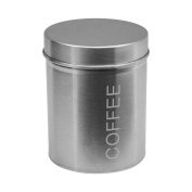 Harbour Housewares Stainless Steel Coffee Canister