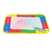 Malloom New Water Drawing Painting Writing Mat Board Magic Pen Doodle Toy Gift 29 x 19cm
