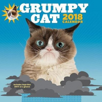 2018 Wall Calendar: Grumpy Cat