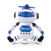 DeeXop Dancing Smart Space Robot Astronaut Music Light Toy