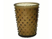 Nutmeg #12 Hobnail Glass Candle, 470ml by Simpatico