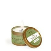 Aroma Naturals Soy VegePure Candles Wish (Snow) To Go Tins 6.4cm x 4.4cm 15 hours burn time 90ml (a) - 2pc