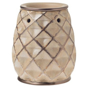 Crafters & Co. Woven Bronze Wax Warmer