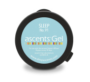 Sleep No. 91 Ascents Gel Essential Oil Refill Cartridge (Use with Ascents Diffuser); Aromatherapy to Naturally Relieve Insomnia; Hypoallergenic; Freshens Air for 30+ Days; covers 60sqm