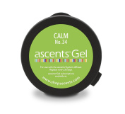 Calm No. 34 Ascents Gel Essential Oil Refill Cartridge (Use with Ascents Diffuser); Aromatherapy to Naturally Relieve Anxiety & Stress; Hypoallergenic; Freshens Air for 30+ Days; Covers 60sqm