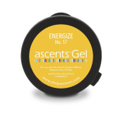 Energise No. 17 Ascents Gel Essential Oil Refill Cartridge (Use with Ascents Diffuser); Aromatherapy for Natural Energy & Mood Boost; Hypoallergenic; Freshens Air for 30+ Days; covers 60sqm