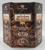 Musk Oud - Perfume Oil by Al-Rehab (6ml) - 6 Pack