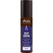 Deep Soothe Blend 100% Pure Therapeutic Grade Essential Oil by Viola Essentials - 10ml Rollon