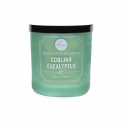 Dw Home Cooling Eucalyptus Richly Scented Candle Small Single Wick Hand Poure...
