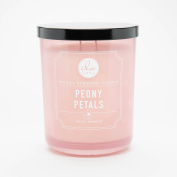 Dw Home Peony Petals Richly Scented Candle Small Single Wick Hand Poured 120ml