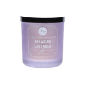 Dw Home Relaxing Lavender Richly Scented Candle Small Single Wick Hand Poured...