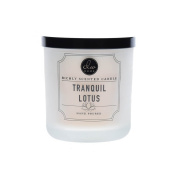 Dw Home Tranquil Lotus Richly Scented Candle Small Single Wick Hand Poured 120ml