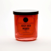 Juicy Red Mango Richly Scented Candle Small Single Wick Hand Poured From Dw Home 120ml