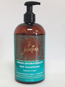 Premium Argan Natural Aromatherapy Conditioner - 470ml - Best Treatment for Damaged & Dry Hair with Therapeutic Essential Oils - 100% Safe, Paraben and Cruelty Free for All Hair Types.