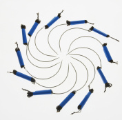 12Pcs C Needles Pre-Threaded Nylon Needles