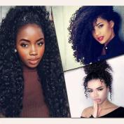 Flady Hair Malaysian Curly Hair Bundles Virgin Human Hair Weave Unprocessed Malaysian Curly Hair 3 Bundles Natural Black Colour Malaysian Curly Hair Weave Extensions