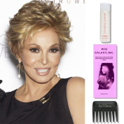Centre Stage by Raquel Welch Wigs, Wig Galaxy Hairloss Booklet, 60ml Travel Size Wig Shampoo, & Wide Tooth Comb. (Bundle - 4 Items), Colour Chosen