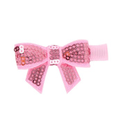 Child Babys Girls Sequins Bowknot Flower Hair Clip - 6 Colours