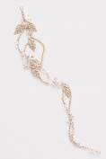 Flexible Crystal Hair Vine Style H9138, Gold