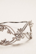 Scattered Solitaire Headband Style H9105, Rhodium
