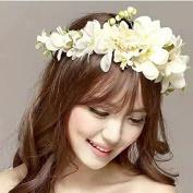 MeeTHan Roses Flower Crown Headband : S5