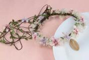Floral Fall BOHO Flower Crown Hair Wreath Headband