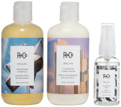 R+Co Roundup Shampoo and Conditioner Set, 0.9kg.