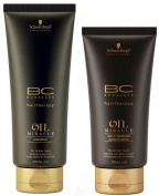 Schwarzkopf BC Bonacure Hairtherapy Oil Miracle Duo Shampoo 200 ml + Gold Glimmer Cream Conditioner 150 ml by BC Bonacure