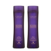 Alterna Caviar Anti-Ageing Blonde Shampoo and Conditioner Duo (250ml each) by Alterna BEAUTY by Alterna