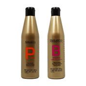 Salerm Protein Shampoo & Balsam Conditioner 250ml Duo Set by Salerm