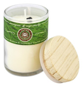 Terra Essential Scents - Massage & Intention Soy Candle Sweetgrass & Sage Smudge - 70ml