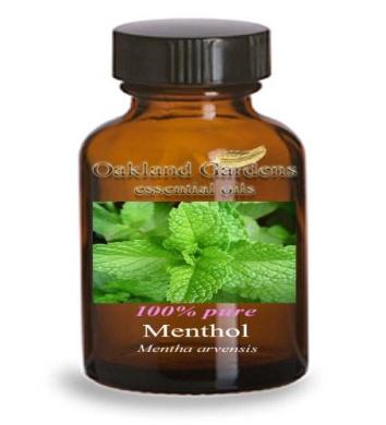LIQUID MENTHOL Essential Oil - 100% PURE Therapeutic Grade Essential Oil - Essential Oil By Oakland Gardens (120 mL - 4.0 fl oz Bottle)